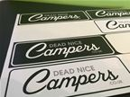 Dead Nice Campers - Stickers
