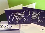 Pure Perfection - Thankyou Cards