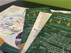 Llangollen Chamber of Trade - Folded Flyers