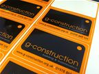 G Construction - Logo Design & Stickers