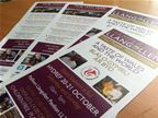 Llangollen Food Festival Flyers